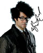 Richard Ayoade Autograph Signed Photo - The IT Crowd